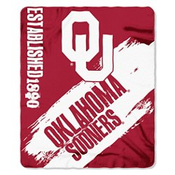 The Northwest Company University of Oklahoma Painted Fleece Throw