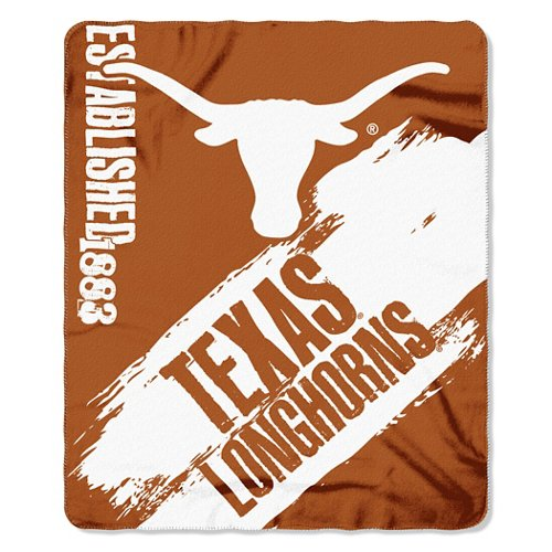 The Northwest Company University of Texas Painted Fleece Throw