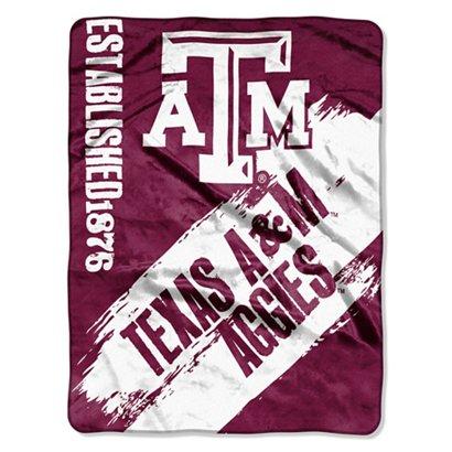 The Northwest Company Texas A M University Painted Fleece Throw