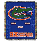The Northwest Company University of Florida Commemorative Tapestry Throw