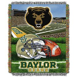 Baylor University Home Field Advantage Tapestry Throw