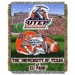 University of Texas at El Paso Home Field Advantage Tapestry Throw