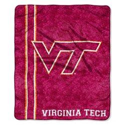 The Northwest Company Virginia Tech Jersey Sherpa Throw