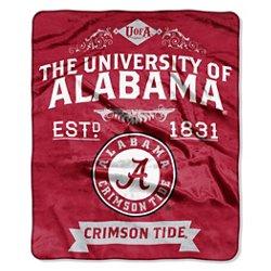 The Northwest Company University of Alabama Label Raschel Throw