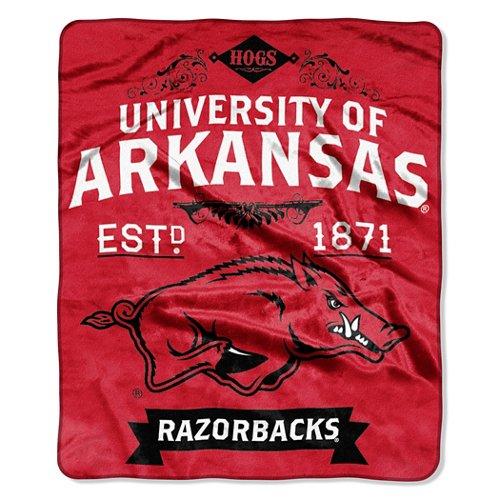 The Northwest Company University of Arkansas Label Raschel Throw