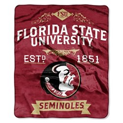 The Northwest Company Florida State University Label Raschel Throw