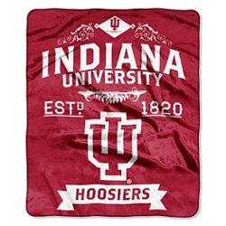 The Northwest Company Indiana University Label Raschel Throw