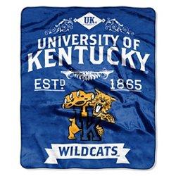 The Northwest Company University of Kentucky Label Raschel Throw