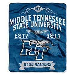 The Northwest Company Middle Tennessee State University Label Raschel Throw