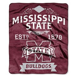 The Northwest Company Mississippi State University Label Raschel Throw