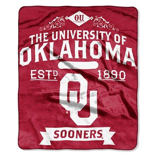 The Northwest Company University of Oklahoma Label Raschel Throw