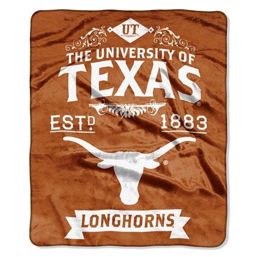 The Northwest Company University of Texas Label Raschel Throw