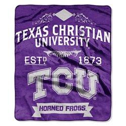 The Northwest Company Texas Christian University Label Raschel Throw