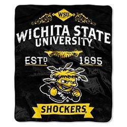 The Northwest Company Wichita State University Label Raschel Throw