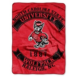 The Northwest Company North Carolina State University Rebel Raschel Throw