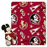 0e8c13f59e2c0 The Northwest Company Florida State University Mickey Mouse Hugger and Fleece  Throw Set