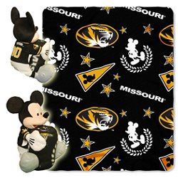 The Northwest Company University of Missouri Mickey Mouse Hugger and Fleece Throw Set