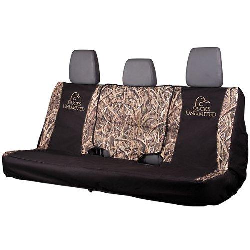 Ducks Unlimited Mossy Oak Camo FS Bench Seat Cover