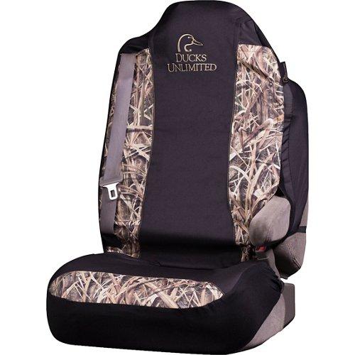 Ducks Unlimited Mossy Oak Camo Universal Seat Cover