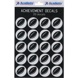 Academy Sports + Outdoors Football Decals 20-Pack