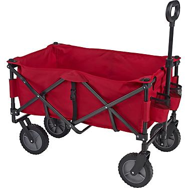 Folding Sports Wagon & Removable Bed