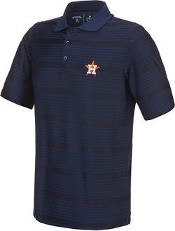 Antigua Men's Houston Astros Illusion Polo Shirt