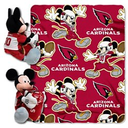 The Northwest Company Arizona Cardinals Mickey Mouse Hugger and Fleece Throw Set