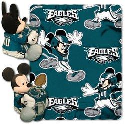 The Northwest Company Philadelphia Eagles Mickey Mouse Hugger and Fleece Throw Set