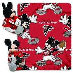 The Northwest Company Atlanta Falcons Mickey Mouse Hugger and Fleece Throw Set