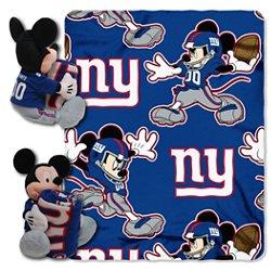 The Northwest Company New York Giants Mickey Mouse Hugger and Fleece Throw Set