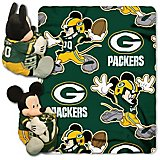 7718500ec825d The Northwest Company Green Bay Packers Mickey Mouse Hugger and Fleece  Throw Set