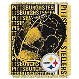 The Northwest Company Pittsburgh Steelers Double Play Woven Jacquard Throw