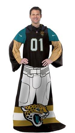 The Northwest Company Jacksonville Jaguars Uniform Comfy Throw