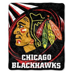 Chicago Blackhawks Jersey Sherpa Throw