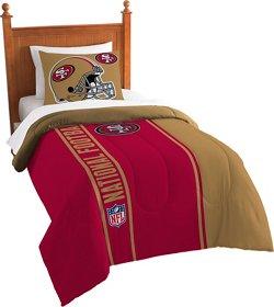 The Northwest Company San Francisco 49ers Twin Comforter and Sham Set