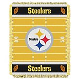 The Northwest Company Pittsburgh Steelers Touchdown Woven Jacquard Throw
