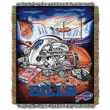 The Northwest Company Buffalo Bills Home Field Advantage Tapestry Throw