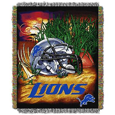 The Northwest Company Detroit Lions Home Field Advantage Tapestry Throw