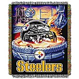 The Northwest Company Pittsburgh Steelers Home Field Advantage Tapestry Throw