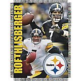 The Northwest Company Pittsburgh Steelers Ben Roethlisberger Tapestry Throw