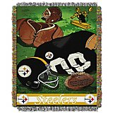 The Northwest Company Pittsburgh Steelers Vintage Tapestry Throw