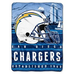 The Northwest Company San Diego Chargers Stacked Silk Touch Throw