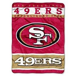 The Northwest Company San Francisco 49ers 12th Man Raschel Throw