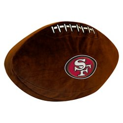 The Northwest Company San Francisco 49ers Football Shaped Plush Pillow