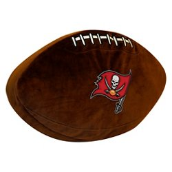 The Northwest Company Tampa Bay Buccaneers Football Shaped Plush Pillow