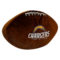 The Northwest Company San Diego Chargers Football Shaped Plush Pillow