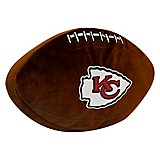 The Northwest Company Kansas City Chiefs Football Shaped Plush Pillow