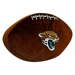 The Northwest Company Jacksonville Jaguars Football Shaped Plush Pillow