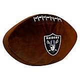 The Northwest Company Oakland Raiders Football Shaped Plush Pillow