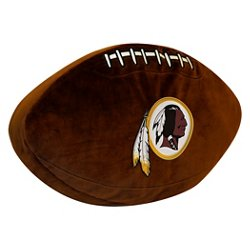 The Northwest Company Washington Redskins Football Shaped Plush Pillow